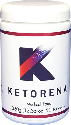 Ketorena powder with 90 doses.