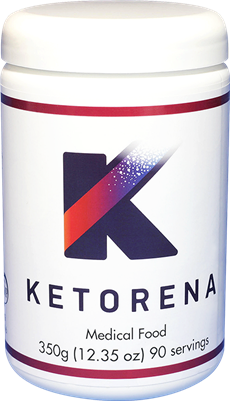 Ketorena canister with 90 doses.