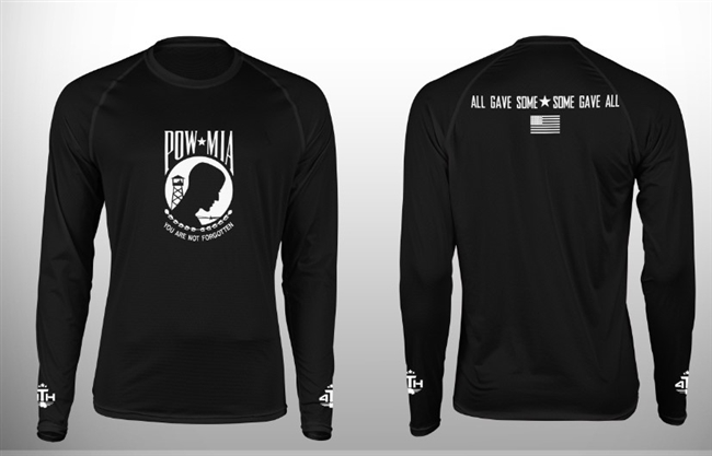 4 T H POW-MIA Custom Sublimated Long Sleeve