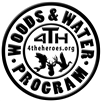 4-T-H woods and Water Auto Decal