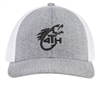 Woods and Water Flex-fit Hat Heather Grey