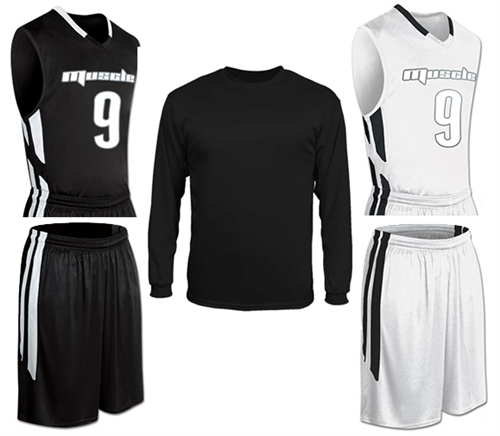best sneakers 709a1 20e81 Home & Away Basketball Jersey Package