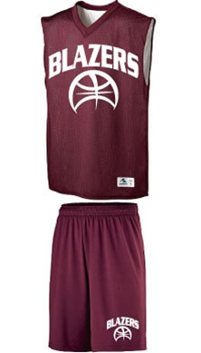 21b307dbc Rebel Reversible Mesh Dazzle Basketball Uniform