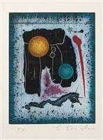 Tighe O'Donoghue, Untitled - Planetary Abstract, Etching
