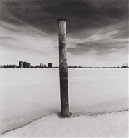 Michael Kenna, (British/American, b. 1953), On the Edge, Belle Isle, Detroit, Michigan, 1994