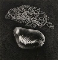 Jerry Uelsmann, (American, b. 1934), Untitled (Shell), 1971