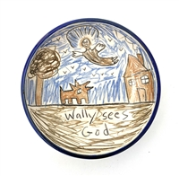 Tom Edwards, 'Wallyware' Bowl, 'Wally sees God'