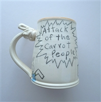 Tom Edwards, Vintage Mug, 'Attack of the Carrot People'