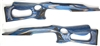 Altamont Barracuda Stock for Ruger 10/22 Electric Blue Gray