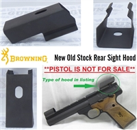 Factory Browning Buck Mark REAR Sight Hood