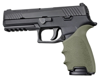Sig Sauer P320 FULL Size Pistols OD Green Hogue Beavertail Handall 17601