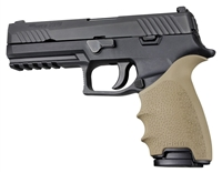 Sig Sauer P320 FULL Size Pistols FDE Tan Hogue Beavertail Handall 17603