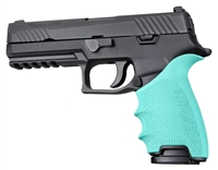 Sig Sauer P320 FULL Size Pistols Aqua Blue Hogue Beavertail Handall 17604