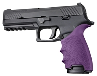 Sig Sauer P320 FULL Size Pistols Purple Hogue Beavertail Handall 17606