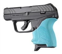 Ruger LCP II Pistol Aqua Blue Hogue Beavertail Handall 18124