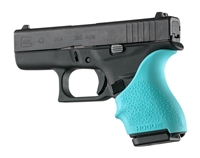 Hogue Handall for Glock 42, 43 Aqua Blue 18204