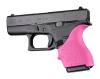 Glock 42 43 Pink Hogue Beavertail Handall 18207