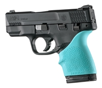 Hogue Handall for S&W Shield 45 Pistol Aqua Blue 18304