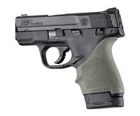 Hogue Handall for S&W Shield 9mm & 40S&W and Ruger LC9 & LC9s Pistols OD Green 18401