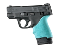 Hogue Handall for S&W Shield 9mm & 40S&W and Ruger LC9 & LC9s Pistols Aqua Blue 18404