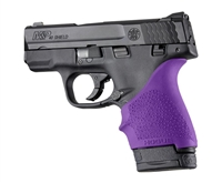 Hogue Handall for S&W Shield 9mm & 40S&W and Ruger LC9 & LC9s Pistols Purple 18406
