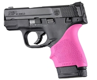 Hogue Handall for S&W Shield 9mm & 40S&W and Ruger LC9 & LC9s Pistols Pink 18407