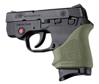 Hogue Beavertail Handall for S&W Bodyguard 380, Taurus TCP & Spectrum OD Green 18501