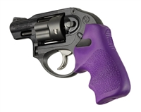 HOGUE Ruger LCR Purple Tamer Rubber Grip 78026