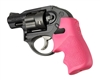 HOGUE Ruger LCR PINK Tamer Rubber Grip 78027