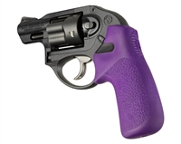 HOGUE Ruger LCR Purple Tamer Combat Rubber Grip 78036