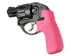 HOGUE Ruger LCR PINK Tamer Combat Rubber Grip 78037