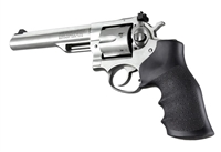 Ruger GP100, Super Redhawk & Alaskan Hogue Rubber Finger Groove Grip 80000