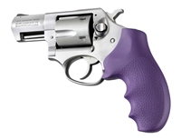Ruger SP101 Hogue Purple Rubber Finger Groove Grip 81006