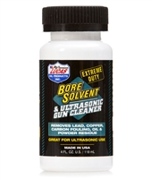Lucas EXTREME DUTY Bore Solvent & Ultrasonic Gun Cleaner 4 oz Bottle 10907