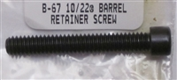 Ruger Screw for V-Block Barrel Clamp for 10/22 Rifle and Charger Pistol B-67