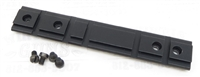 Factory Ruger Black Matte Finish Weaver Scope Rail for 10/22 and Charger