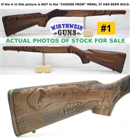 "Factory Ruger 10/22 TALO ""WILD BOAR"" WALNUT 21168 Altamont Rifle stock"