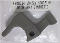 Ruger Magazine Release Gray Synthetic for 10/22 and Charger
