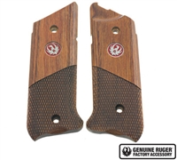 Factory Ruger Mark IV Half Checkered Laminated Wood Grips