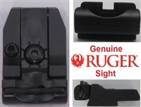 Factory Ruger Adjustable Rear Sight Black Outline for Mark Series Pistols
