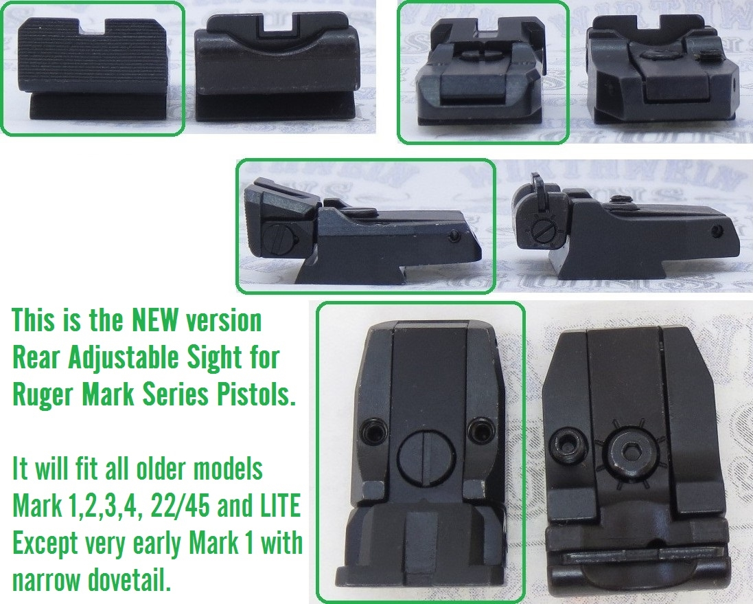 NEW!! Ruger 10//22 Factory Standard Rear Sight