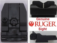 Factory Ruger Adjustable Rear Sight V-Bladefor Mark Series Pistols