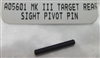 Factory Ruger Rear Sight Pivot Pin for Mark Series Pistols