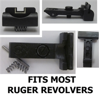 Ruger Adjustable Rear Sight High White Outline for most Ruger Revolvers