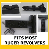 Ruger Adjustable V Blade Rear Sight for most Ruger Revolvers