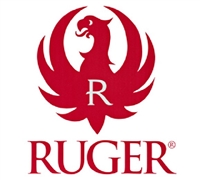 Ruger Red 6 inch Decal