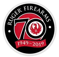 Ruger 70th Anniversary Decal