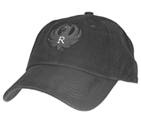 Ruger Black Cotton Puff Cap