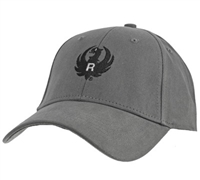 Ruger Dark Gray Cotton Cap
