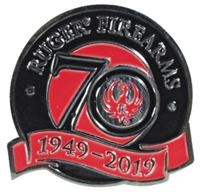 Ruger 70th Anniversary Lapel Pin - Hat Tack